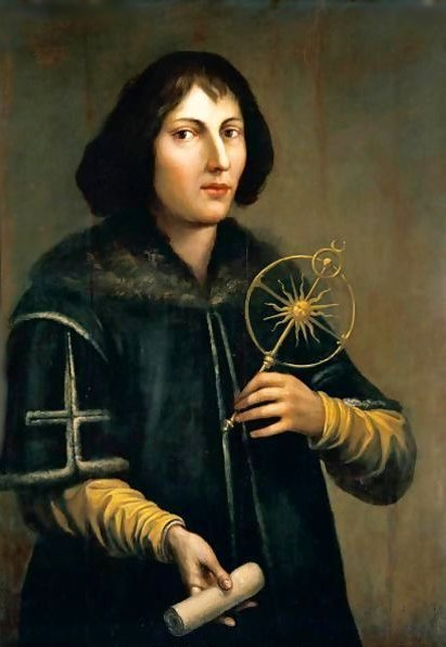 Portrait-Of-Nicolas-Copernicus-$281473-1543$29,-Three-Quarter-Length,-Holding-An-Astrolabe-And-A-Rolled-Parchment