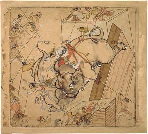 09_An Elephant Combat