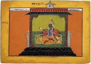 17_Krishna longing for Radha