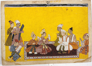21_Portraits of Bharata and Shatrughna