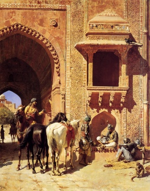 51Gate Of The Fortress At Agra