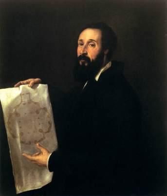 Tiziano Vecellio Ritratto di Giulio Romano