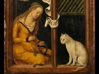 Die Katzenpfote (Glogauer Liederbuch, c.1480)
