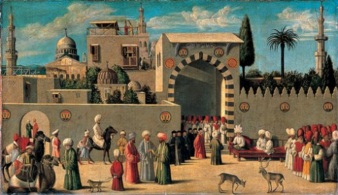 The Reception of the Venetian Ambassadors in Damascus, 1511