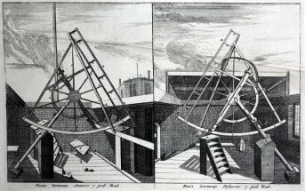Astronomical instruments used by Flamsteed at Greenwich_1725