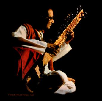 Nikhil Bannerjee-Sitar