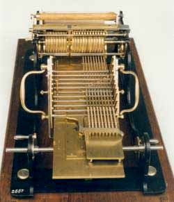 Selling's multiplication machine (© Deutschen Museum, München)