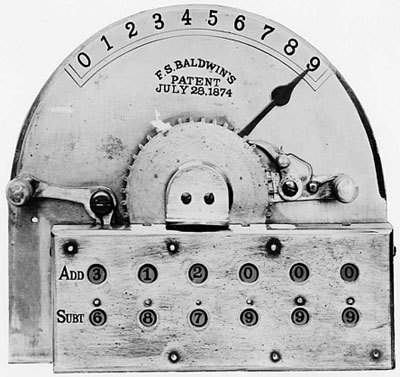 The Arithmometer of Frank Baldwin