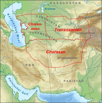 Karte_Map_Chorasan-Transoxanien-Choresmien