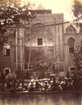 Luigi Pesce, Mosque of Qom, Iran, c